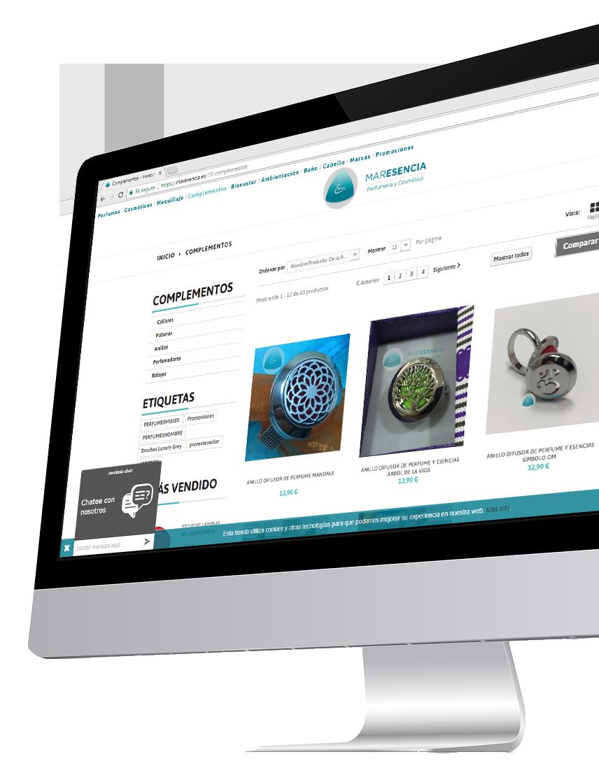 diseño y programación tiendas online